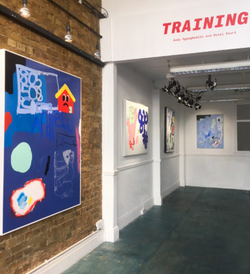 Training Exhibition, Hart Club.