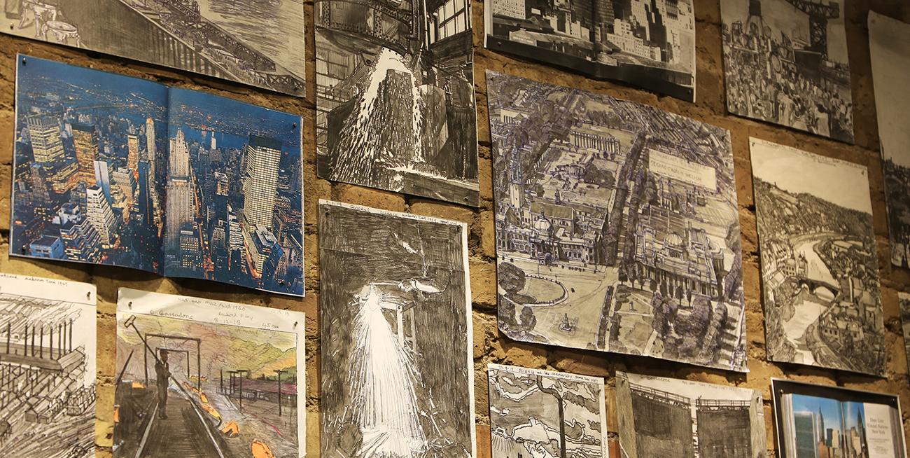 Opening night of David Bassadone exhibition.