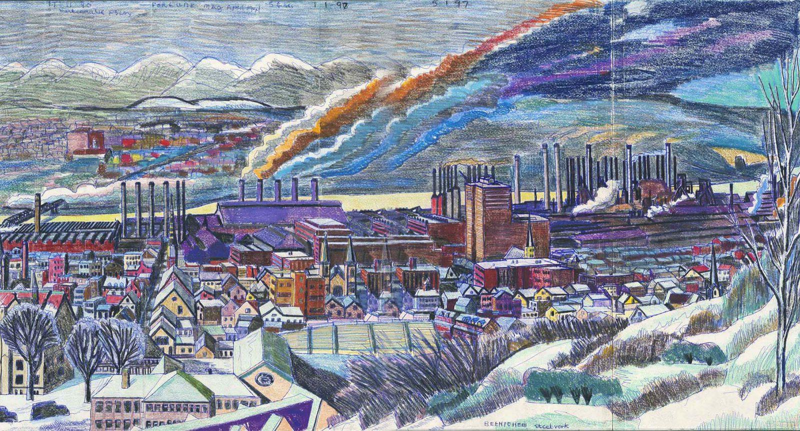 David Bassadone. Bethlehem Steelworks