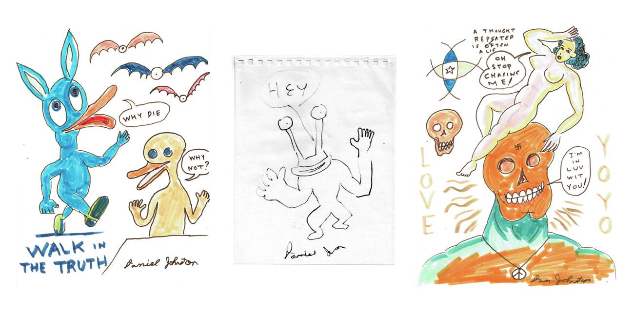 Selected works by Daniel Johnston