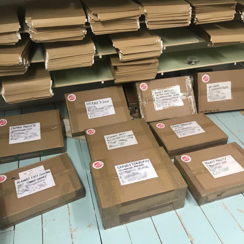 Packaged Folk Beasts Art Packs