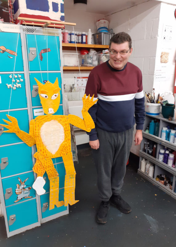 Make your own Reynard puppet