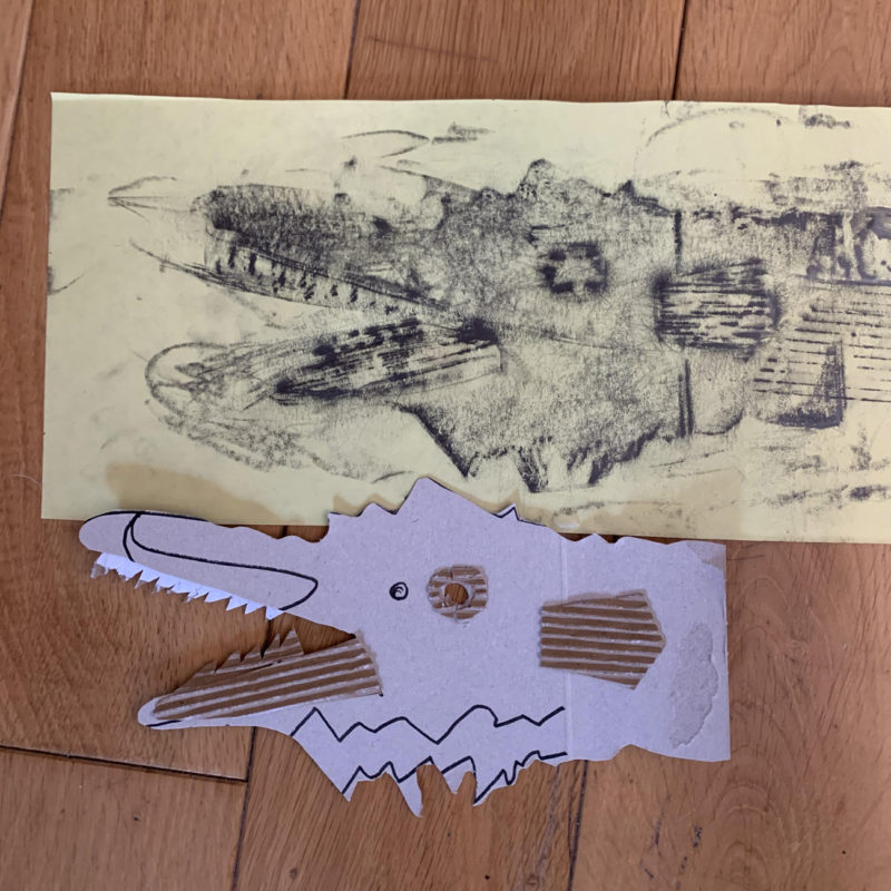 Giant Sea Serpent by Mariana. Pack No. 14