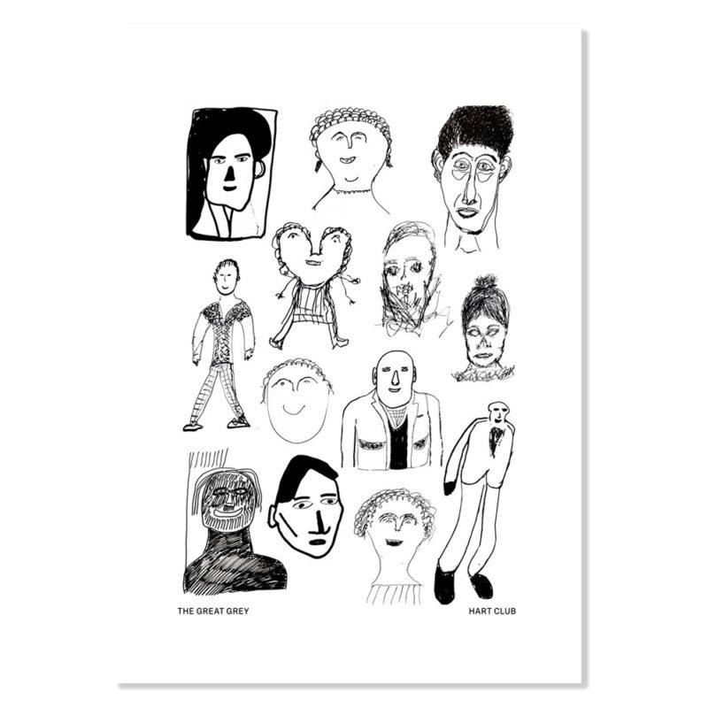 Faces, 2019. £100