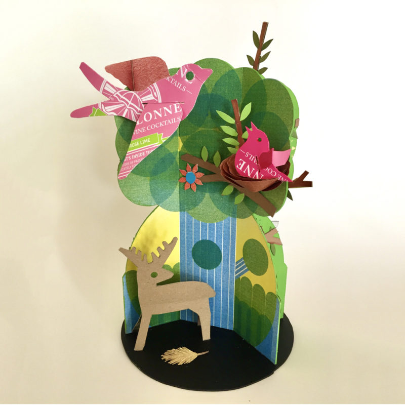 Tree In The Woods by Joyce Leipertz. Pack No. 17.