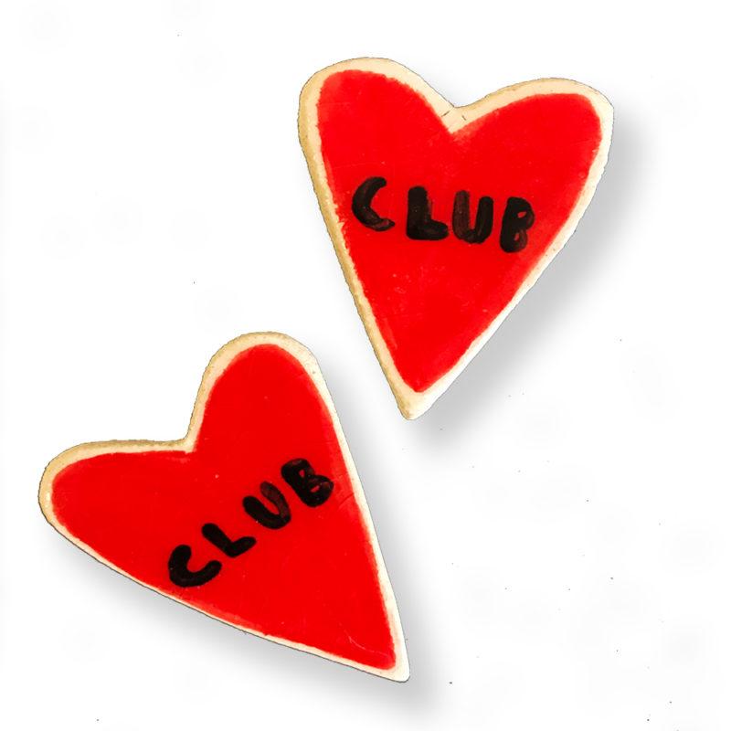 Ceramic Pin Badge. £10