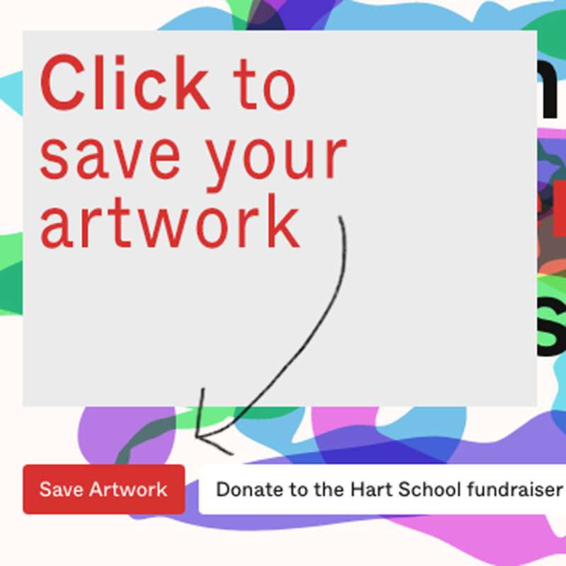 Click the Save Artwork button to save your image.