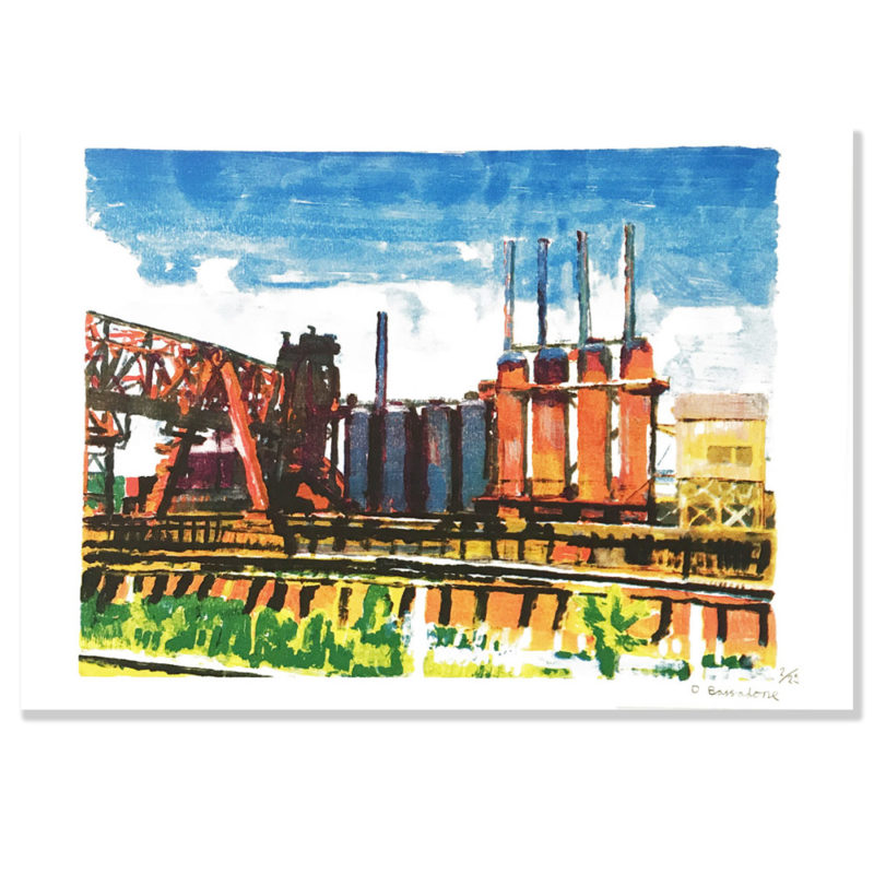 Factory Towers by David Bassadone. £30