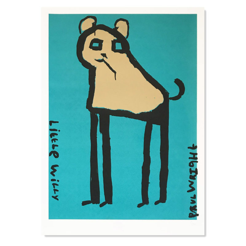 Little Willy Turquoise by Paul Wright. £80